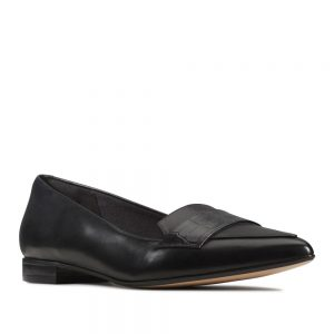 Clarks Laina 15 Loafer Black Combination. Premium Shoes