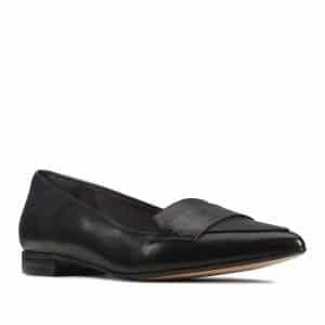Clarks Laina 15 Loafer Black Combination. Premium Shoes