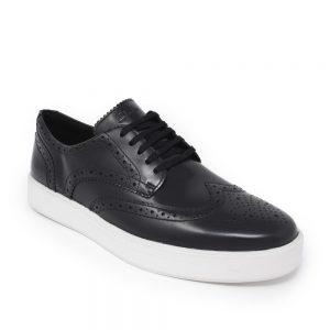 Clarks Hero Limit Black Leather. Premium Leather