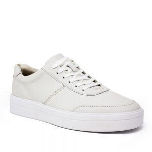 Clarks Hero Walk White Leather. Premium Shoes
