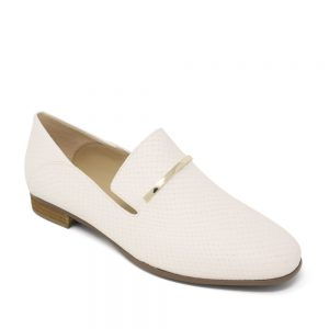 Clarks PureViola Trim White Snake. Premium Shoes