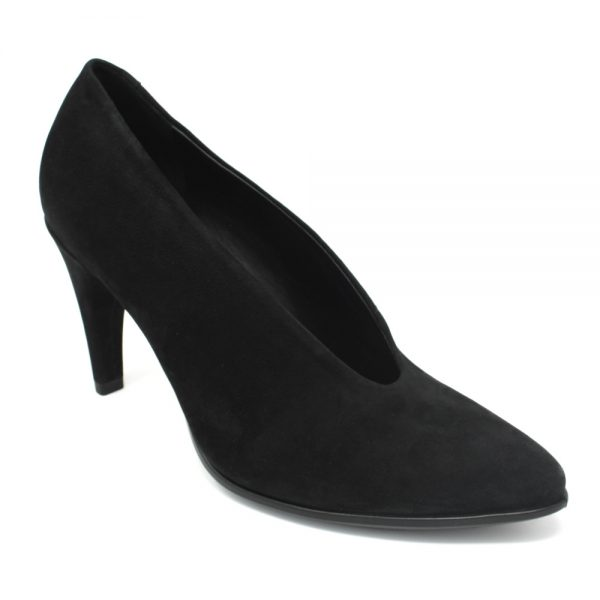 Ecco Shape 75 Pointy Black. Premium shoes