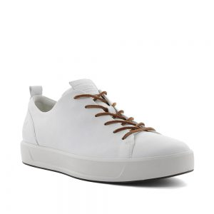 Ecco Soft 8 White Celeste. Premium shoes