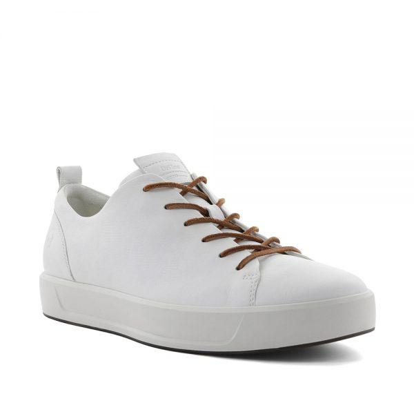Ecco Soft 8 White Celeste. Premium shoes