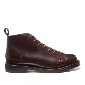 Solovair Burgundy Monkey Boot. Made from quality leather