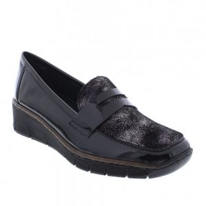 Rieker 53732-01 Black. Premuim Women's Shoes