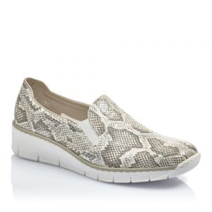 Rieker 53766-40 Ladies Slip on Shoes. Premium Shoes