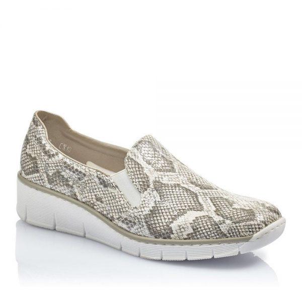 Rieker 53766-40 Ladies Slip on Shoes. Premium Shoes