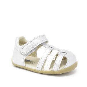 Bobux Jump Silver Sandal. Best shoes for growing feet