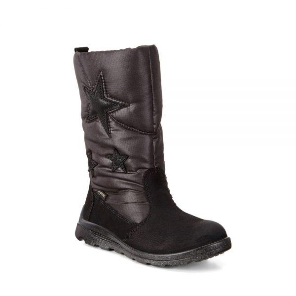 Ecco Kids Janni Black. Premium Shoes.