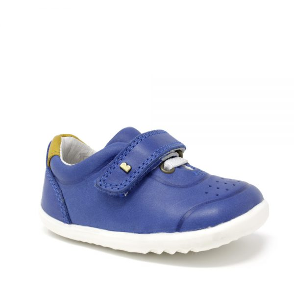 Bobux SU Ryder Blueberry + Chartreuse. Best shoes for growing feet.