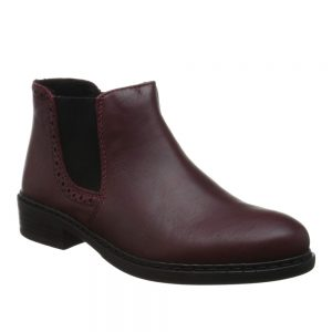 Rieker 77584-35 Wine. Stylish Premium Shoes