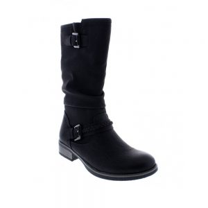 Rieker 98860-00 Black. Stylish Premium Shoes