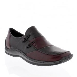 Rieker L1762-36 Red Combination. Stylish Premium Shoes