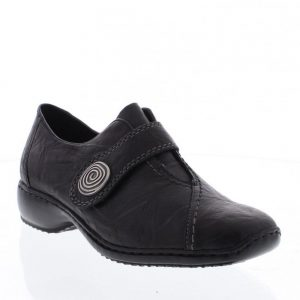 Rieker L3870-00 Black. Premium Women's Shoes