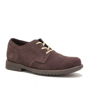 Cat Ethan Coffee Bean Derby's. Premium Shoes