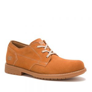 Cat Ethan Pumpkin Spice Derby's. Premium Shoes