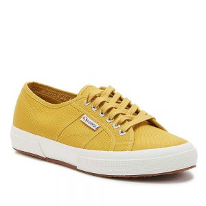 Superga 2750 Cotu Classic Yellow. Stylish Premium Shoes