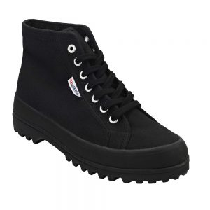 Superga 2341 Cotu Alpina Black. Stylish Premium Shoes.