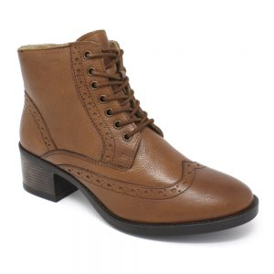 Lotus Amira Brown Tan Leather. Premium Women's Shoes