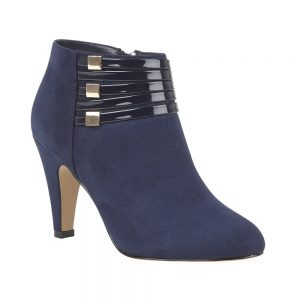Navy Nell Shoe Boots