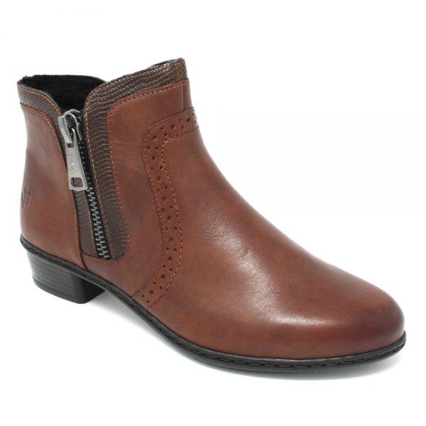 Rieker Y0727-22 Brown. Premium Antistress Footware