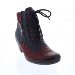Rieker Y7211-35 Red & Blue Combination. Stylish Premium Shoes
