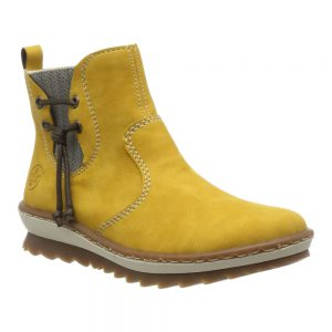 Rieker Z8691-68 Yellow. Stylish Premium Shoes