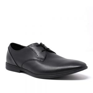 Clarks Bampton Lace Black Leather. Premium Women's Shoes