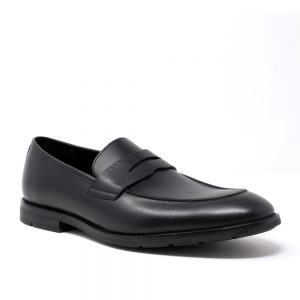 Clarks Ronnie Step Black Leather. Premium Shoes