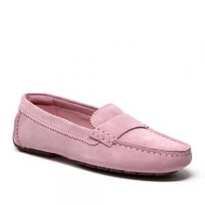 Clarks CC Mocc Pink Suede Premium Shoes.