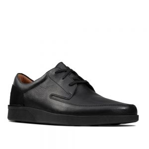 Clarks Oakland Craft Black Leather. Premium Shoes