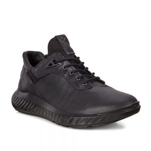 Ecco St1 Lite M Black. Premium sneaker shoes