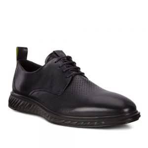 Ecco ST1 Hybrid Lite Black Santiago. Premium shoes
