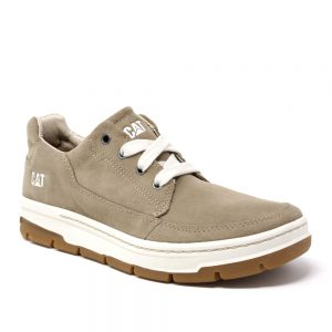 Cat Grrayledge Beige Suede. Premium Shoes