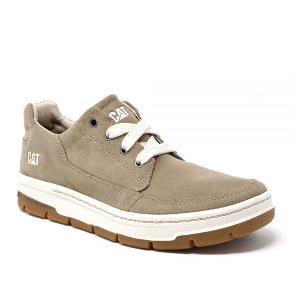 Cat Grrayledge Beige Suede. Premium Shoes