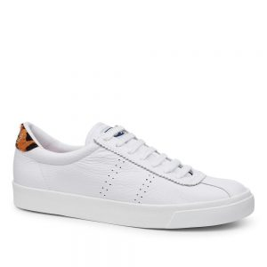 SUPERGA 2843 COMFLEALEOPARDU. Premium cotton canvas upper