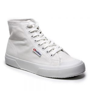 Superga-2295-cotw-white. Premium cotton canvas upper.