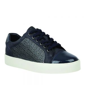 Lotus Cologne. Stressless Navy Leather Shoes