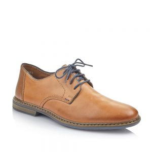 Rieker 13422-25 Men's Brown Lace Up Shoes