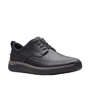 Clarks Garratt Street Derbys Black. Premium Men's Shoes