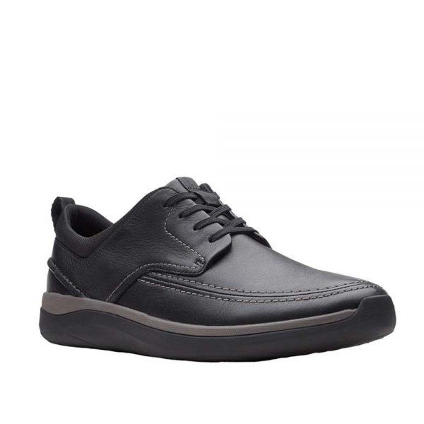 Clarks Garratt Street Derbys Black. Premium Men's Shoes