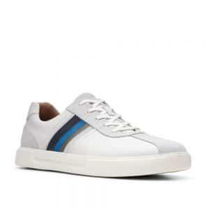 Clarks Un Costa Band White Combi. Premium Men's shoes