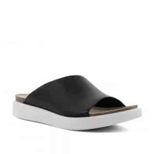 Ecco Corksphere Sandal Black