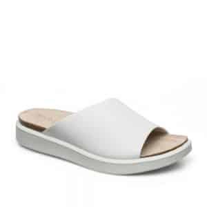Ecco Corksphere Sandal Bright White