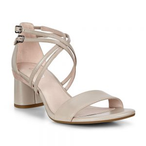 Ecco Elevate 65 Block Sandal Grey Rose