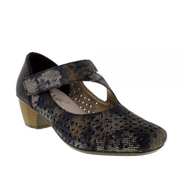 Rieker 41746-90 Closed Toe Pumps. Premium Shoes