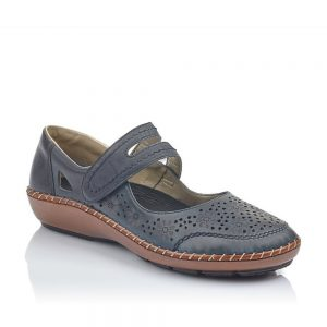 Rieker 44875-14 Ladies Dark Blue Shoes