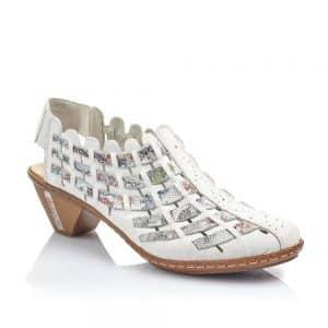 Rieker 46778-80 Ladies Shoes. Premium Leather.