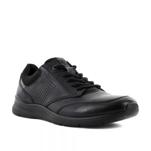 Ecco Irving Black. Premium Leather Shoes